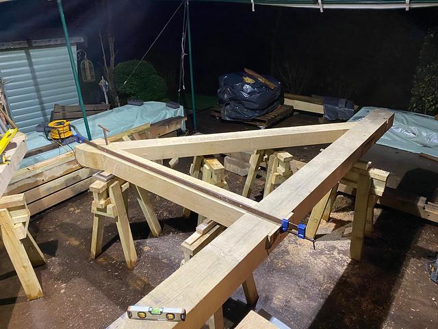 First half of first truss