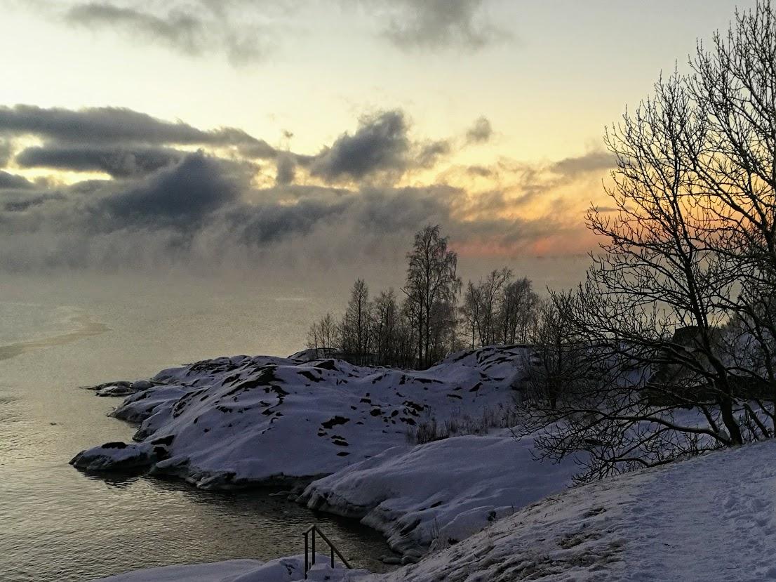 suomenlinna talvi
