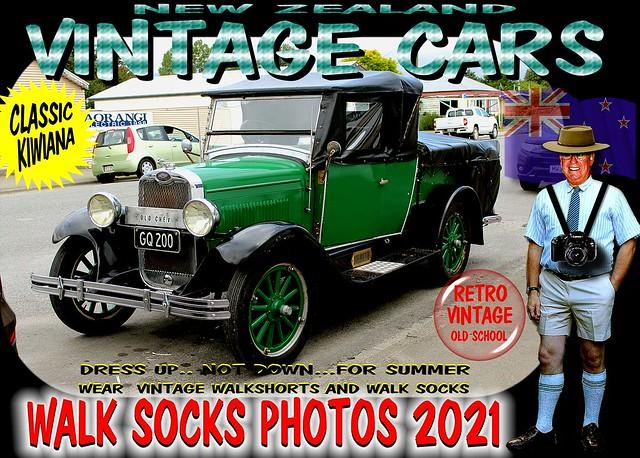 Walksocks Vintage Cars in Part 2 2021