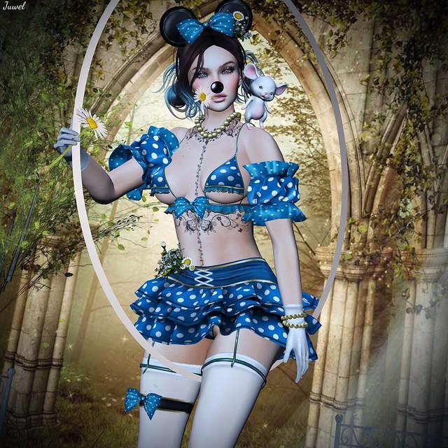 Minnie en folie