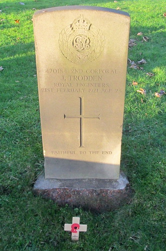 Hebburn, Great War Grave
