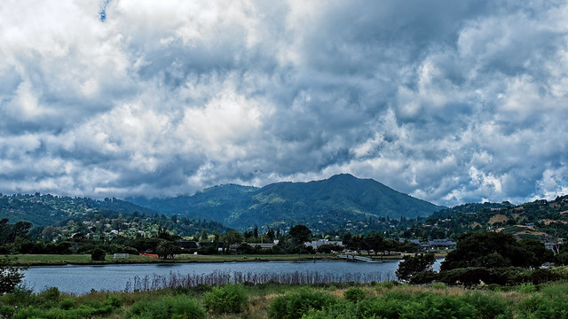 Dramatic Clouds over Mount Tam