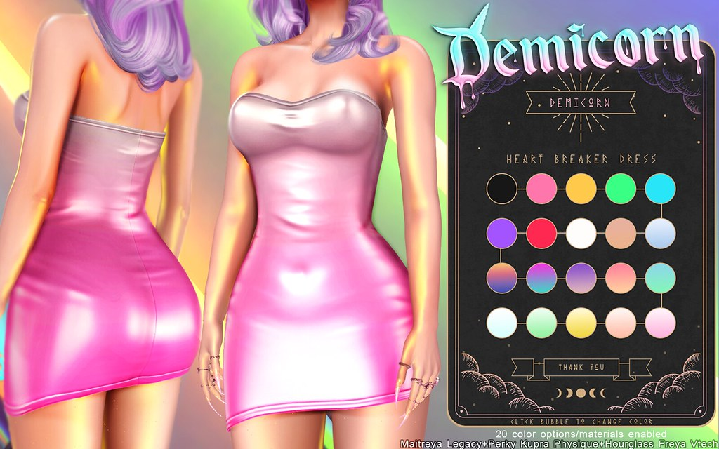 {Demicorn} Heart Breaker Dress