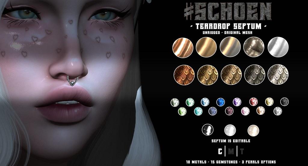 #SCHOEN – Teardrop Septum