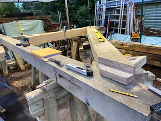 Principal rafter foot joint - 1