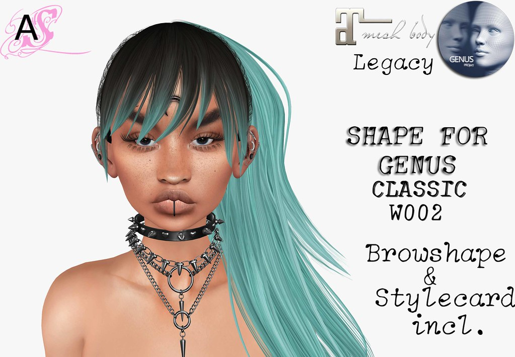 DORIS-Shape for Genus Classic face W002