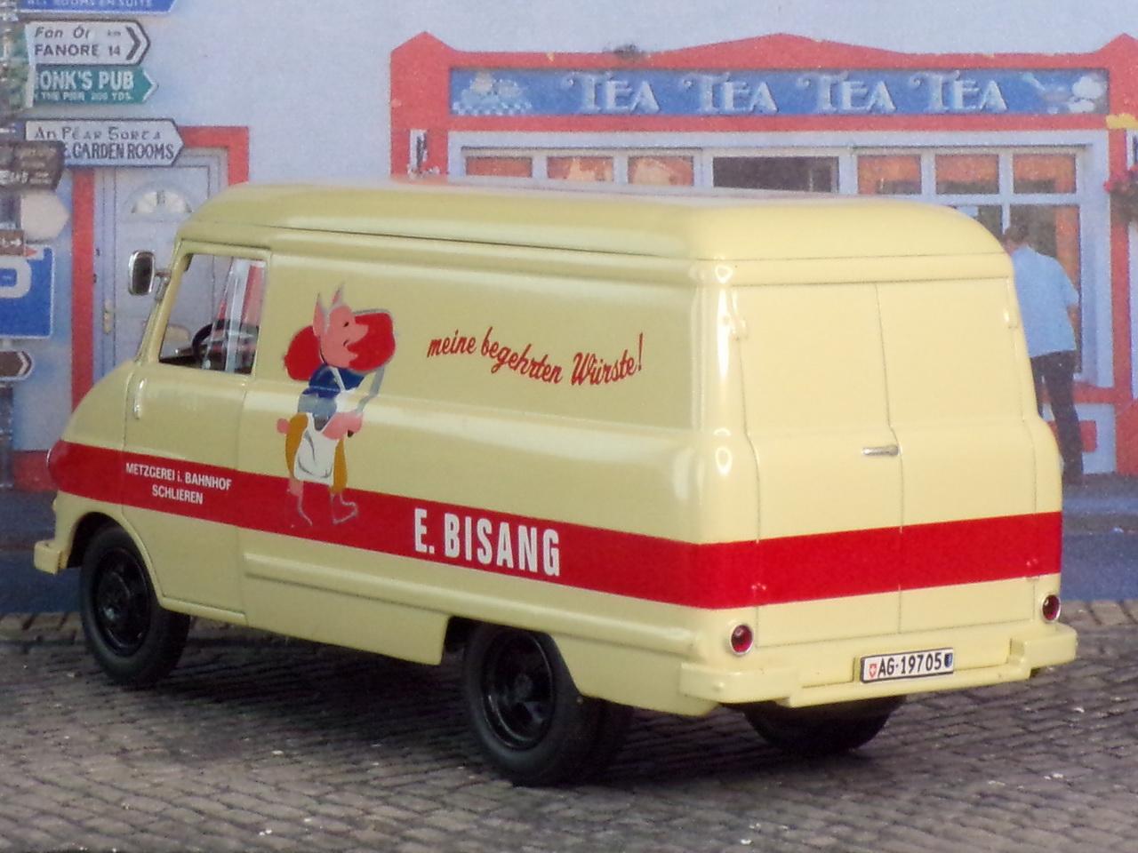 Opel Blitz Kastenwagen – 1960