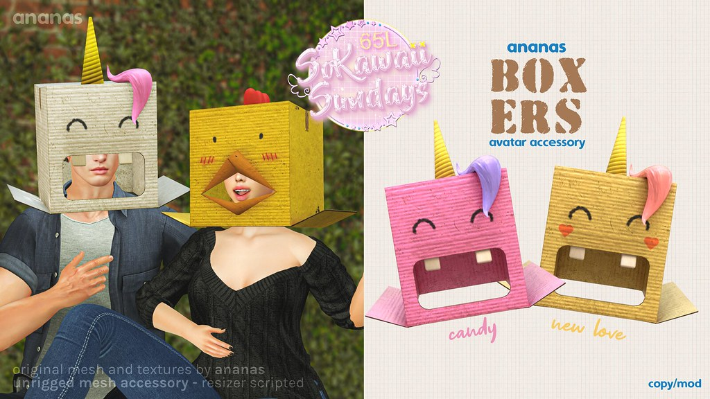 Ananas // Boxers – Candy & New Love – For SoKawaiiSundays!