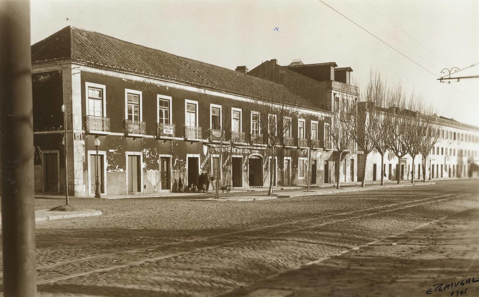 Campo Grande, Lisboa (E.Portugal, 1941)