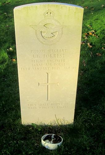 Hebburn Second World War Grave