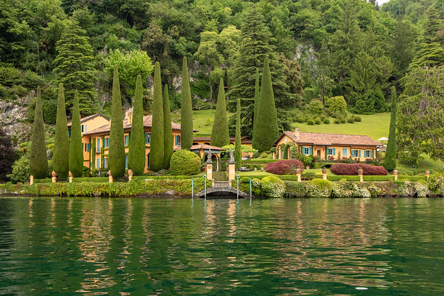 Armchair Traveling - Villa La Cassinella on Lake Como