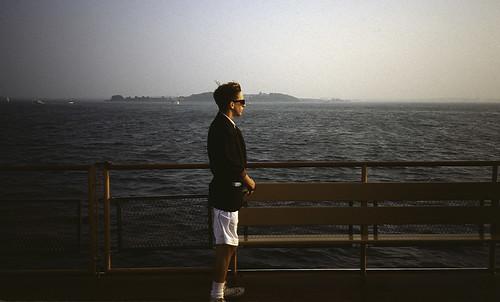 Ferry Passenger Approaching Boston