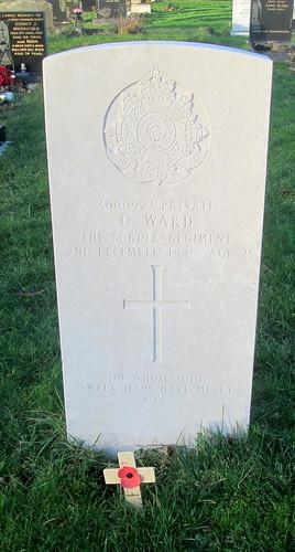 Seecond World War Grave, Hebbrun