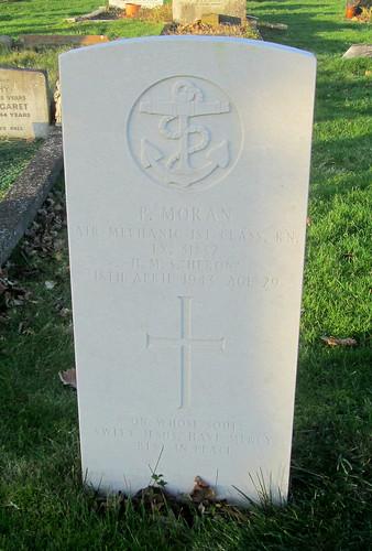 asecond World War Grave, Hebburn