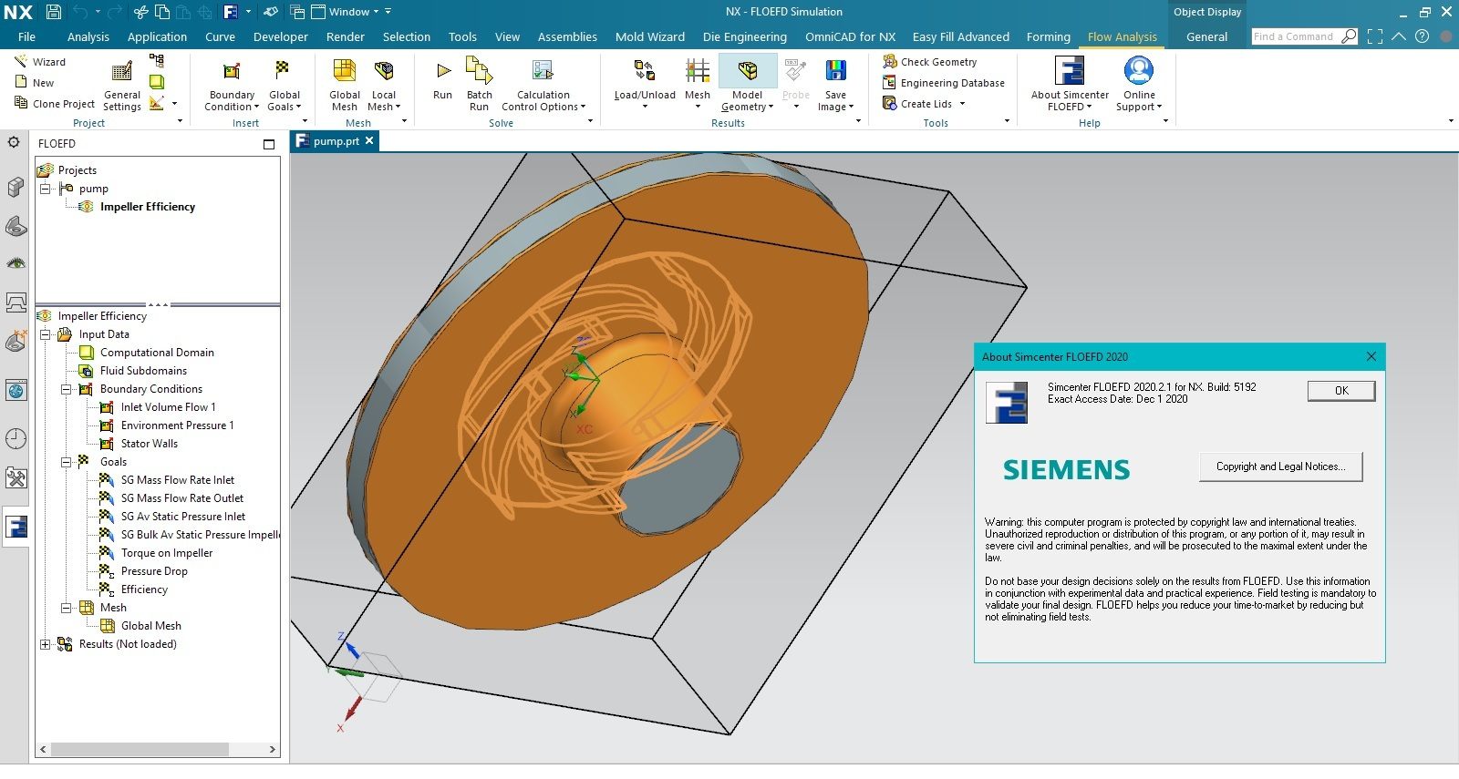 Download Siemens Simcenter FloEFD 2020.2.1 v5192 for Siemens NX Win64