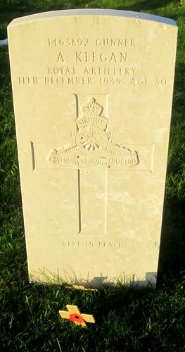 Second World War Grave, Hebburn