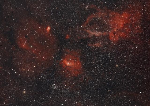 Super Wide Bubble Nebula - Explore 31st Jan 2021