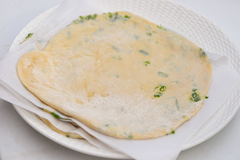 Daeji Bulgogi Scallion Pancake Quesadillas