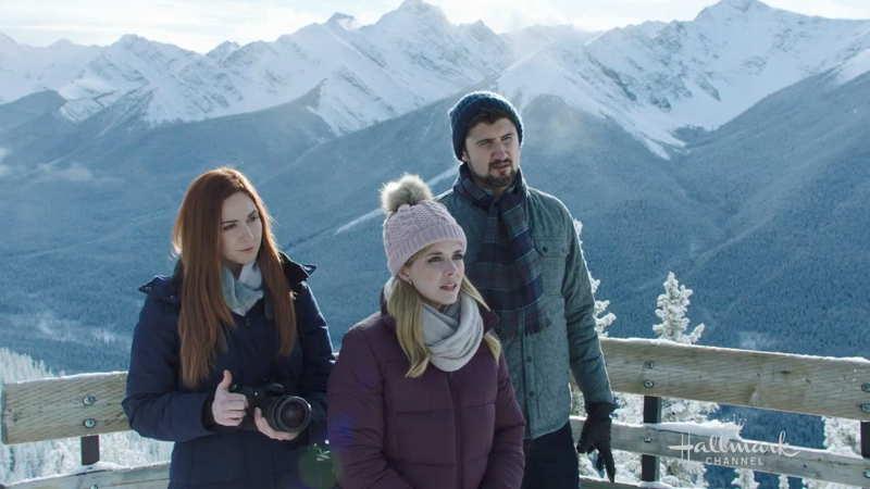 Sulphur Mountain lookout scene