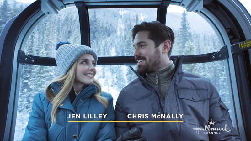 Jen Lilley and Chris McNally