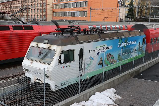 2021-01-29, SZU, Zürich Giesshübel, Re 456 091