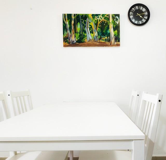 Talia Toeg  peintre paysagiste Belles peintures pour la maison Israeli landscape Painter