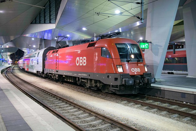 ÖBB 1116 169 Wien Hbf