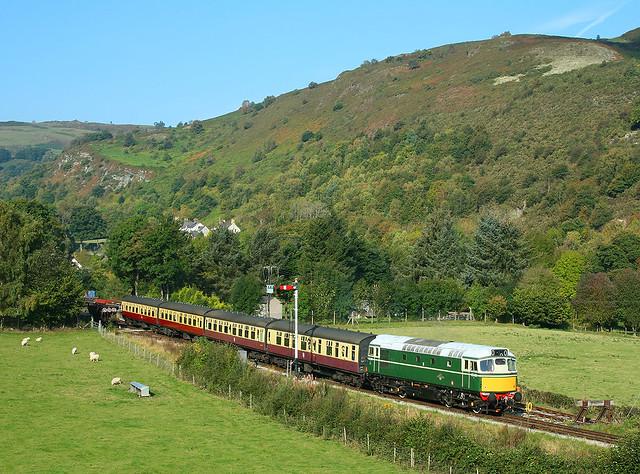 D5401, Glyndyfrdwy, 6 Oct 2007