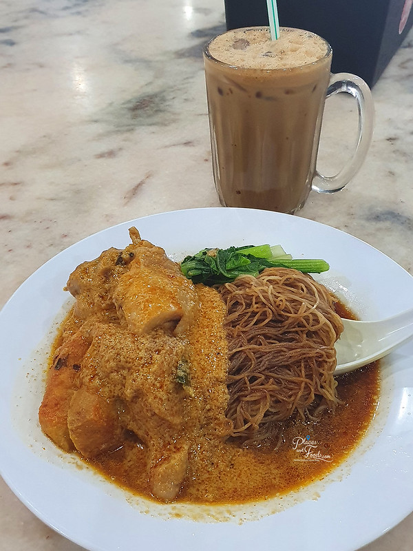 noodle good taste kajang dry curry noodles white coffee