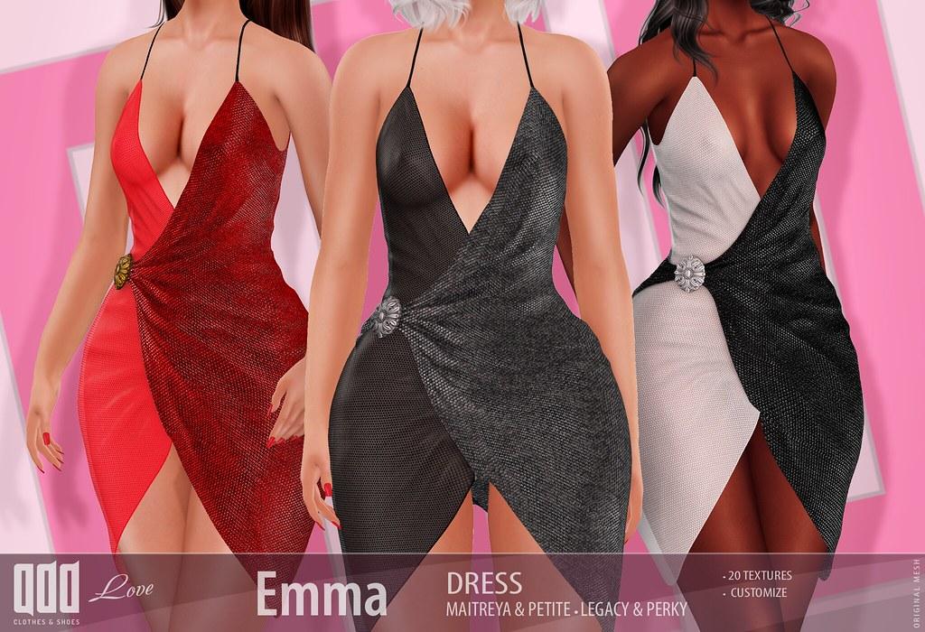 New release – [ADD] Emma Dress