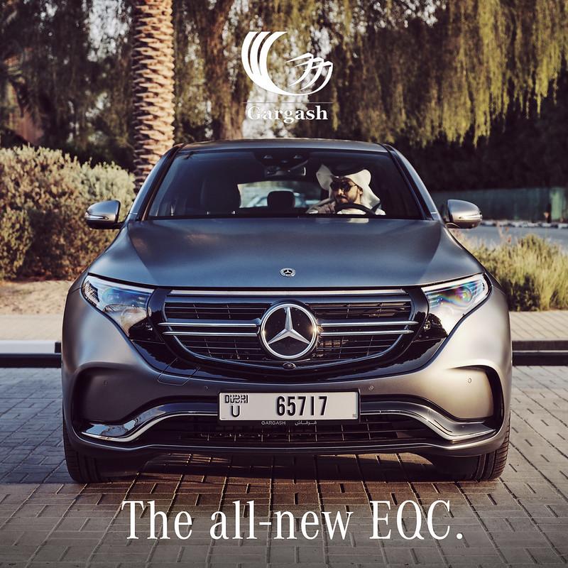 Mercedes EQC 232 by Waleed Shah