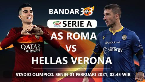 Prediksi As Roma vs Hellas