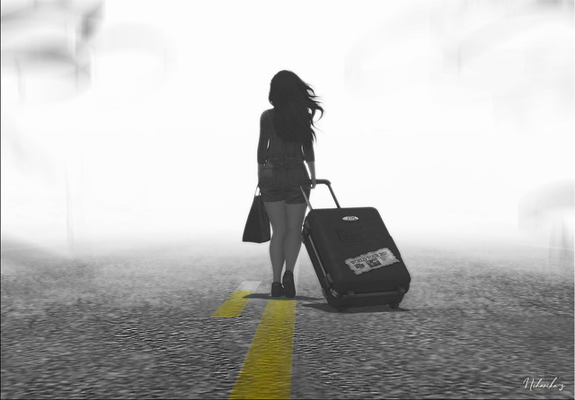 You should leave any uncertain place, as long as you have your attraction towards them, because certain place needs your presence only....