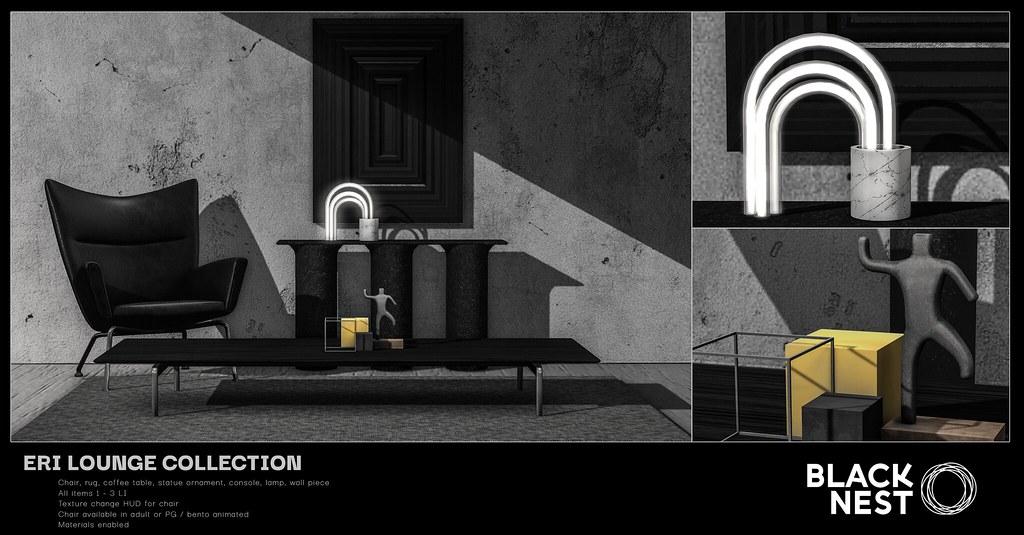 BLACK NEST | Eri Lounge Collection | FaMESHed
