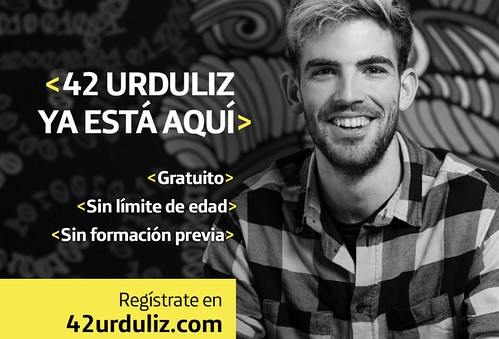 42 Urduliz, campus digital gratuito y sin límite de edad