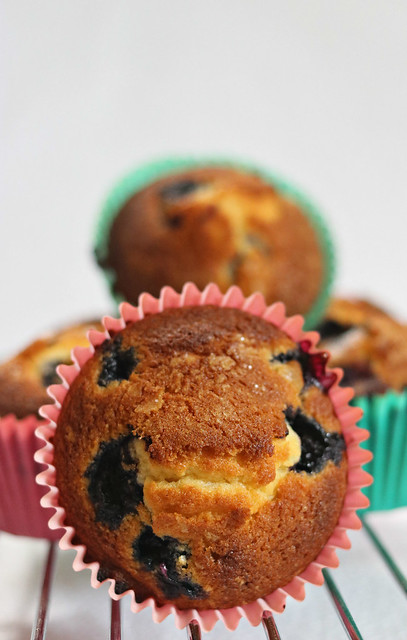 2021: Home-made Blueberry Muffins