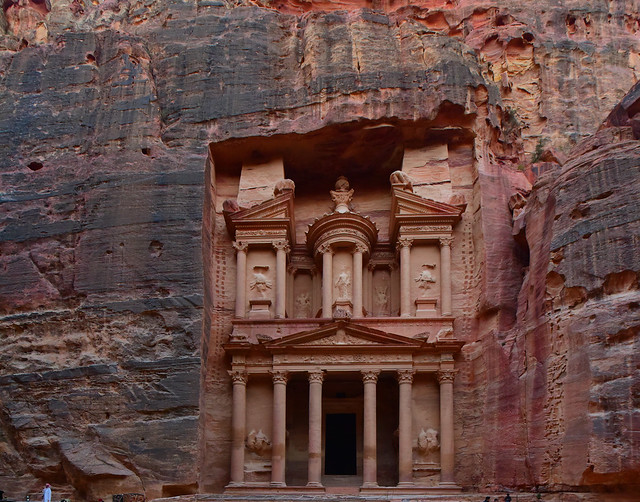 The Treasury, Petra, Jordan, 1243
