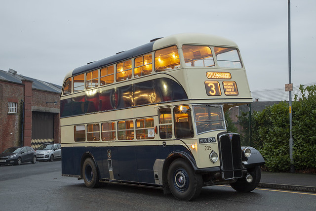 Rochdale Corporation 235, Museum of Transport Greater Manchester, December 2018