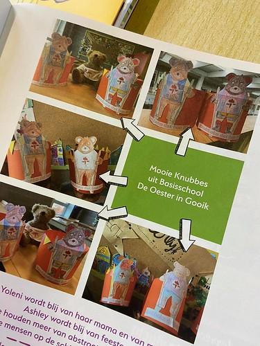 1ste leerjaar - Zedenleer: Knubbekes in de Fakkeltjeskrant