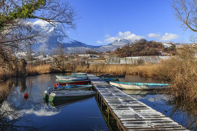 Les petits bateaux qui vont sur l'eau.... (Savoie 01/2021)