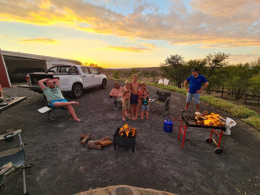 Weekend with family & friends at Merweville & Blesfontein