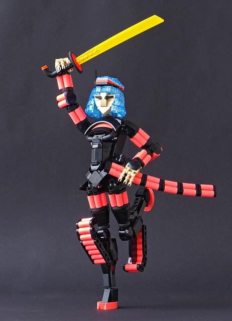 Hai Spektrum, the Zap Samurai