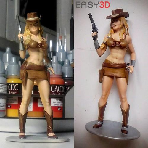 Statuine 3D ed action figure personalizzate