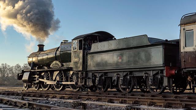 GWR No7802 BRADLEY MANOR