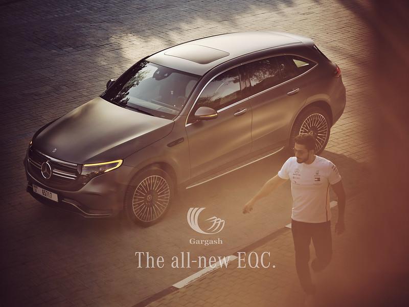 Mercedes EQC 237 by Waleed Shah