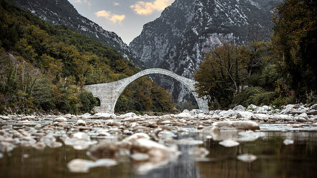 Historic Plaka Bridge
