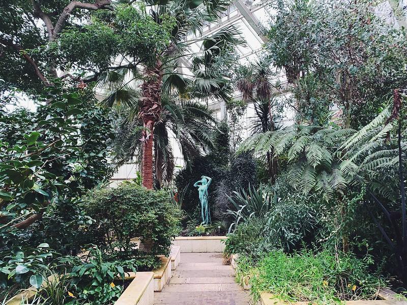 Meise puutarha kasvihuone Bryssel