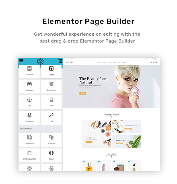 Built-in website with RBthemedream Elementor Page Builder