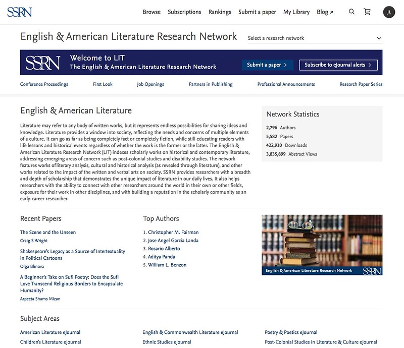 English & American Literature Research Network