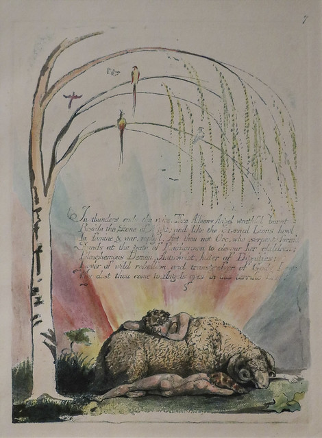 Plate 9, 'In Thunders Ends the Voice...', William Blake